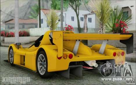 Radical SR3 RS 2009 para GTA San Andreas left