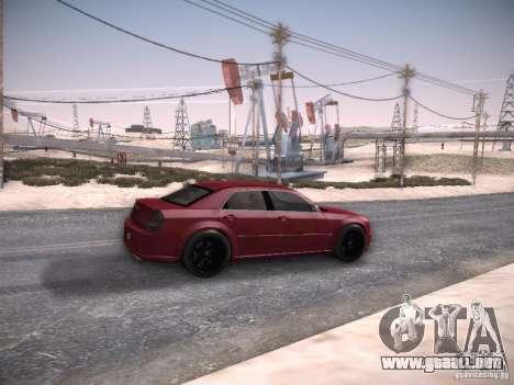 Chrysler 300C SRT8 para la visión correcta GTA San Andreas
