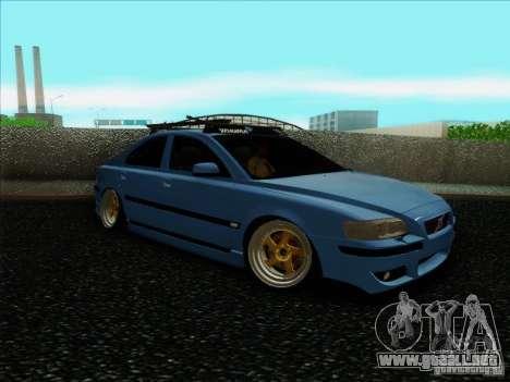Volvo S60 para GTA San Andreas vista posterior izquierda