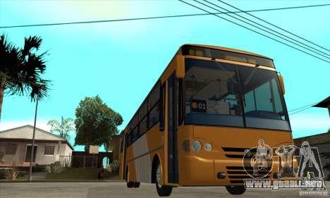 CAIO Alpha Mercedes-Benz OH-142051 skin Zona C para GTA San Andreas vista hacia atrás