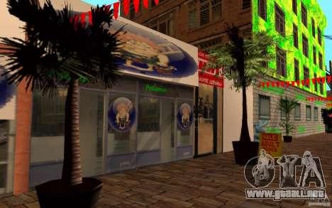 Calle playa nueva para GTA San Andreas tercera pantalla