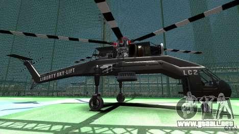 Liberty Sky-lift para GTA 4 left
