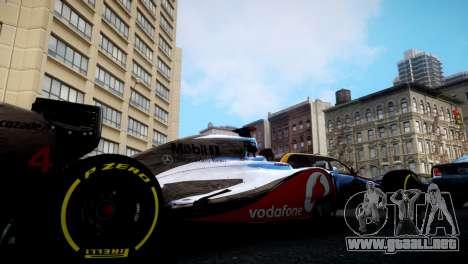 McLaren MP4-27 para GTA 4 left