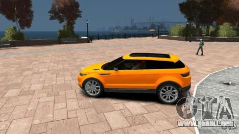 Range Rover LRX 2010 para GTA 4 left