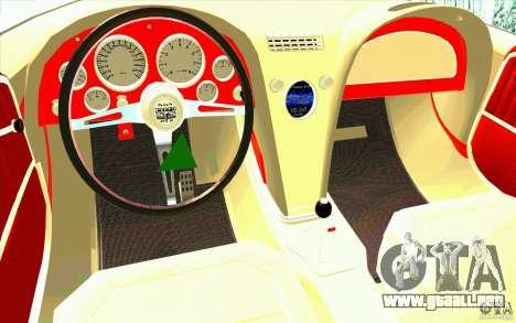 Mamba Speedboat para la visión correcta GTA San Andreas