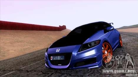 Honda CR-Z Mugen 2011 V1.0 para GTA San Andreas