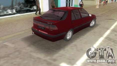SAAB 9000 Anniversary v1.0 para GTA Vice City vista lateral izquierdo