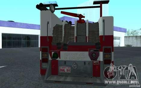 FIRETRUCK para la visión correcta GTA San Andreas