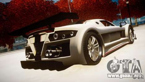 Gumpert Apollo Sport KCS Special Edition v1.1 para GTA 4 left