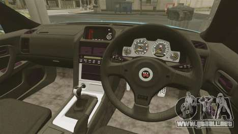 Nissan Skyline GT-R BNR34 2002 para GTA 4 visión correcta
