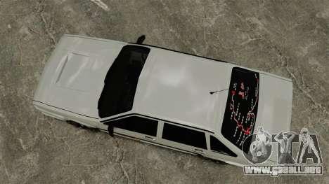 Volkswagen Santana Shanghai Century Rookie para GTA 4 visión correcta