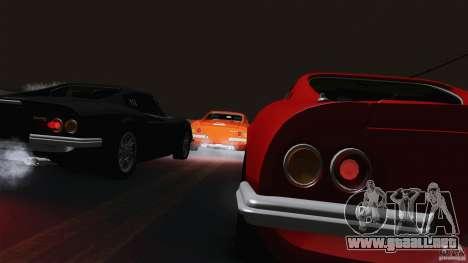 Ferrari 246 Dino GTS para visión interna GTA San Andreas
