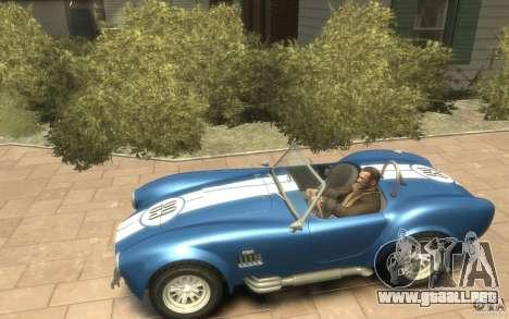 Shelby Cobra 427 SC 1965 para GTA 4 left