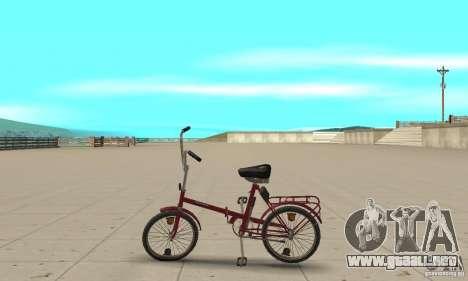 Bicicleta de Kama para GTA San Andreas left