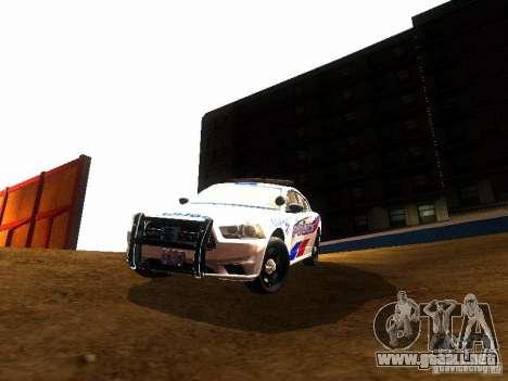 Dodge Charger 2011 Toronto Police para visión interna GTA San Andreas