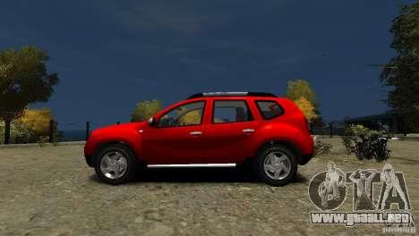 Dacia Duster SUV 4x4 2010 para GTA 4 left