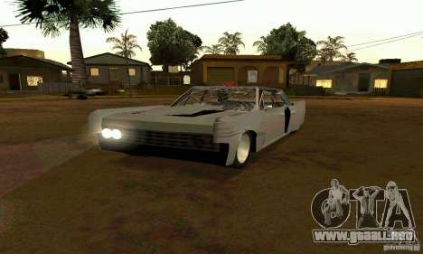 Lincoln Continental 1966 para visión interna GTA San Andreas
