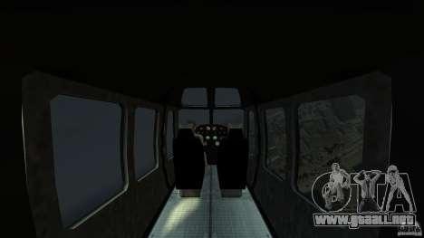 TboGT Swift para GTA 4 vista interior