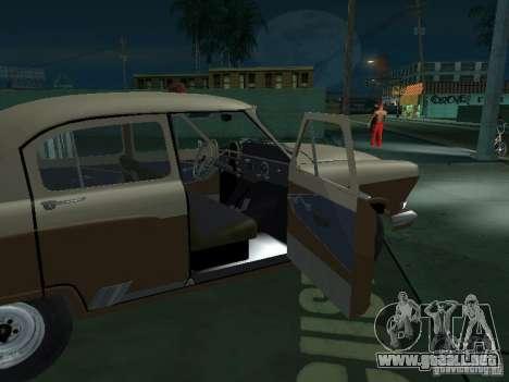 GAS M21T Taxi para vista inferior GTA San Andreas