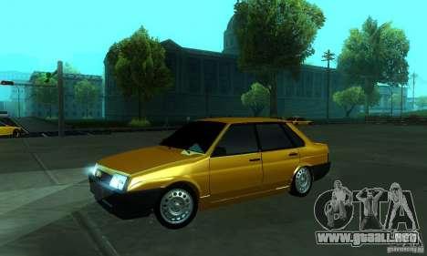 VAZ 21099 PROTOCOLO para GTA San Andreas