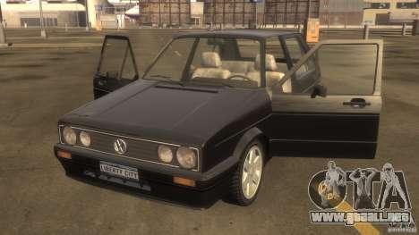 Volkswagen Golf para GTA 4 left