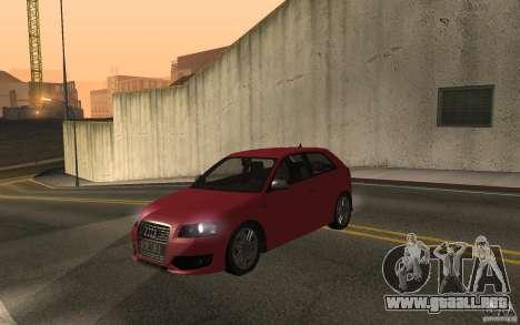 Audi S3 Tunable para la visión correcta GTA San Andreas