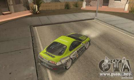 Toyota Supra Tunable 2 para vista lateral GTA San Andreas
