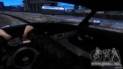 Opel Speedster Turbo para GTA 4 vista hacia atrás