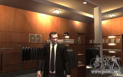 Chaquetas abiertas con lazos para GTA 4 sexto de pantalla