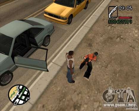 Endorphin Mod v.3 para GTA San Andreas quinta pantalla