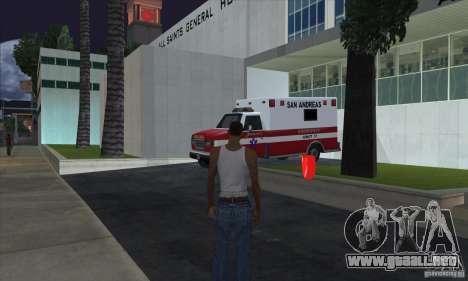 Kit de primeros auxilios 1.0 para GTA San Andreas
