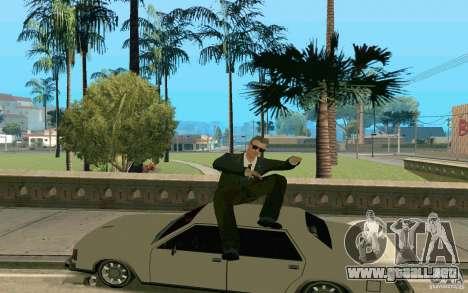 Black MIB para GTA San Andreas segunda pantalla