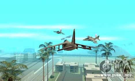 Guerra del aire para GTA San Andreas tercera pantalla