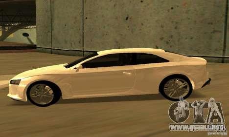Audi Quattro Concept 2013 para GTA San Andreas vista posterior izquierda