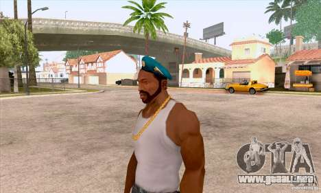 Boina en el aire para GTA San Andreas segunda pantalla