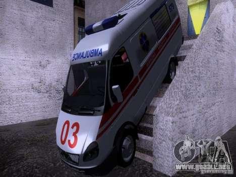 Ambulancia gacela 2705 para GTA San Andreas