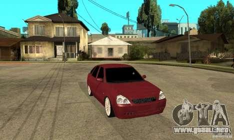 VAZ Lada Priora 2172 LT para GTA San Andreas vista hacia atrás