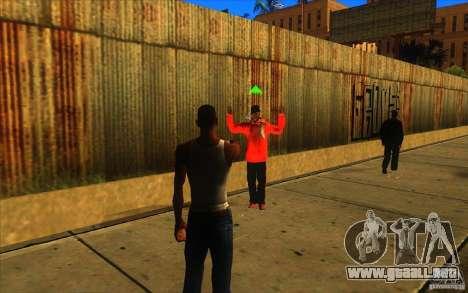 Gran vista para GTA San Andreas sucesivamente de pantalla