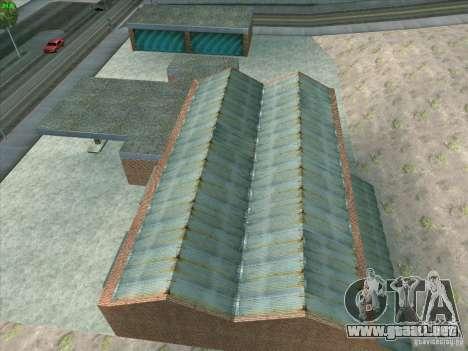 Nuevo garaje en Doherty para GTA San Andreas octavo de pantalla