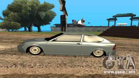 LADA Priora 2172 para las ruedas de GTA San Andreas