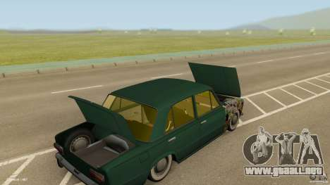 VAZ 2101 baja & Classic para visión interna GTA San Andreas