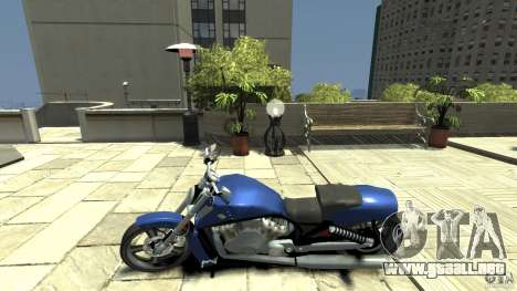 Harley Davidson VRSCF V-Rod para GTA 4 left