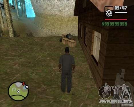 Casa Hunter v2.0 para GTA San Andreas quinta pantalla