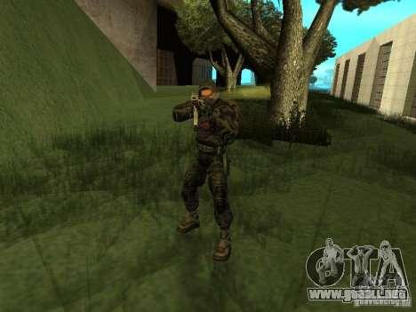 Miembro considera de S.T.A.L.K.E.R. para GTA San Andreas tercera pantalla