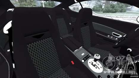Bentley Continental GT Premier v1.0 para GTA 4 vista interior
