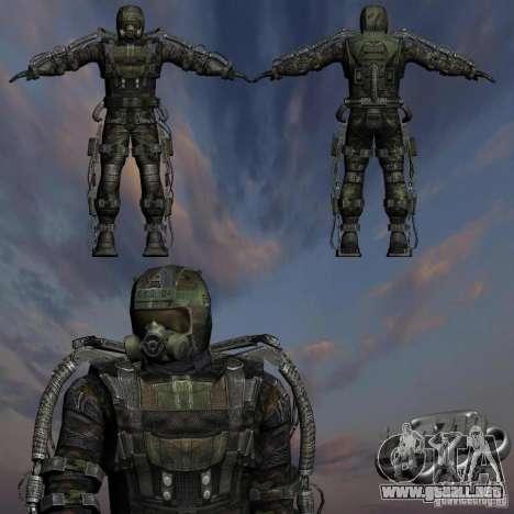 Acosador militar en èkzoskelete para GTA San Andreas