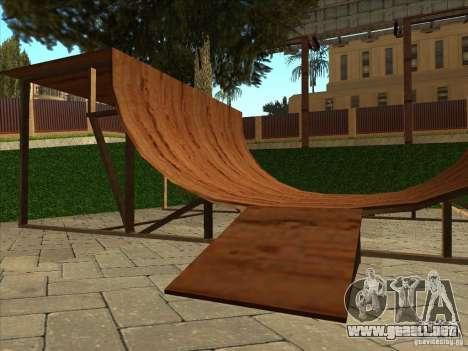 Mapa de Parkour y bmx para GTA San Andreas décimo de pantalla