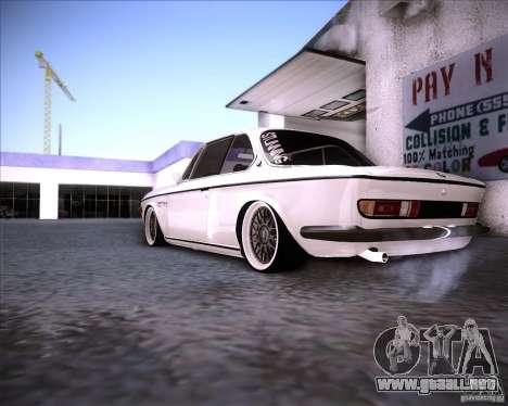 BMW 3.0 CSL Stunning 1971 para la visión correcta GTA San Andreas