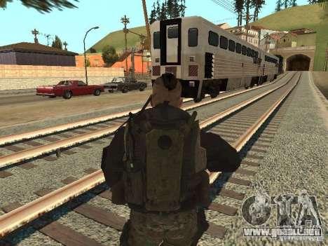 Captain MacTavish para GTA San Andreas tercera pantalla