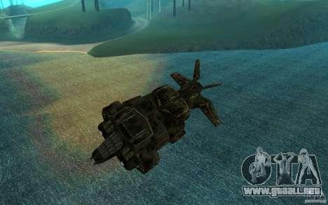 El transbordador desde el juego Aliens vs Predat para GTA San Andreas